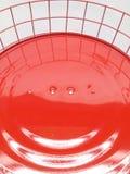 Das Lächeln auf handgemachter Lampe Lizenzfreies Stockfoto
