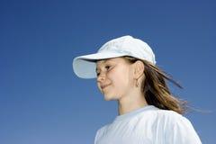 Das lächelnde Mädchen Lizenzfreie Stockfotos
