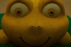 Das lächelnde Spielzeug Stockfoto