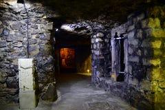 Das Labyrinth von Buda Castle Stockfoto