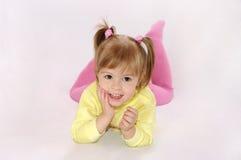 Das Lachen des kleinen Mädchens Lizenzfreie Stockbilder