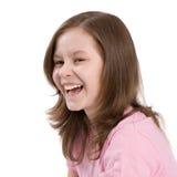Das lachende Mädchen Lizenzfreie Stockbilder