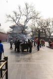 Das Lamatempel Peking-Porzellan Lizenzfreie Stockfotografie