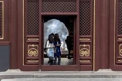 Das Lamatempel Peking-Porzellan Stockfotos