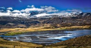 Das Land des Eises und des Feuers!! Lizenzfreie Stockbilder