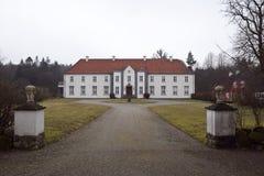 Das Landsitz-Haus Stockfoto