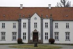 Das Landsitz-Haus Stockfotografie