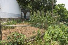 Das Landwirt ` s Haus vor dem Haus Lizenzfreies Stockfoto