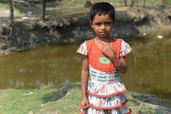 Das landwirtschaftliche Mädchen Lizenzfreies Stockbild