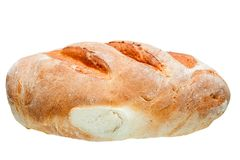 Das lange Laib des Brotes Stockfotografie