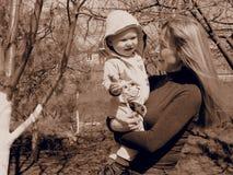 Das langerwartete Baby Lizenzfreie Stockfotos