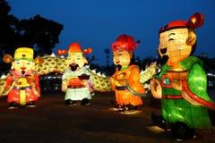 Das Laternen-Festival 2017 in Taiwan Stockfoto