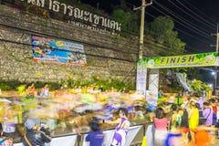 Das Laufen von Mini Marathon lizenzfreies stockbild