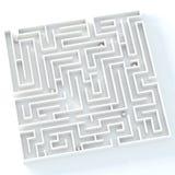 Das Leben ist Labyrinth Lizenzfreies Stockbild