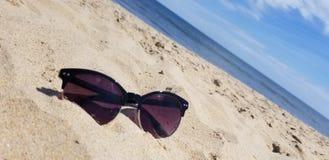 Das Leben ist am Strand besser! stockfotografie
