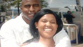 Das Leben lieben und es mit meinem Partner lebend Lizenzfreies Stockfoto
