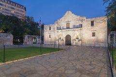 Das legendäre Alamo-Auftragfort und -museum in San Antonio Stockbilder