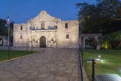 Das legendäre Alamo-Auftragfort und -museum in San Antonio Lizenzfreies Stockfoto