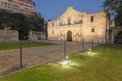 Das legendäre Alamo-Auftragfort und -museum in San Antonio Stockbild