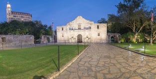 Das legendäre Alamo-Auftragfort und -museum in San Antonio Lizenzfreie Stockbilder