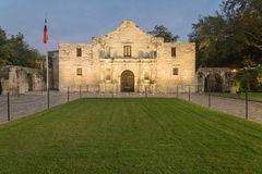 Das legendäre Alamo-Auftragfort und -museum in San Antonio Stockfoto
