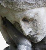 Das Leiden von Jungfrau Maria Fragment der Statue Sadne Lizenzfreie Stockfotos