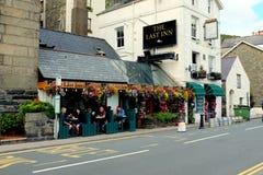 Das letzte Gasthaus, Barmouth, Wales Lizenzfreie Stockfotografie