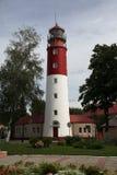 Das Leuchtfeuer zu Baltiysk Kaliningrad-Region, Russland Stockbilder