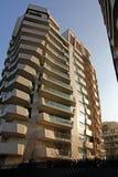 Das ` Libeskind-Wohnsitze ` bei Citylife; Mailand, Italien Lizenzfreies Stockfoto