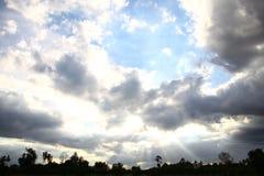 Das Licht der Sonne lizenzfreies stockfoto