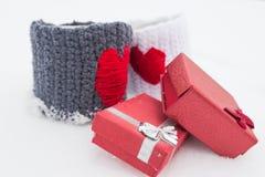 Das Liebesthema für Valentine Day Stockbilder