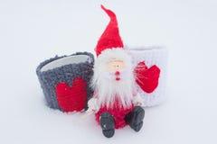 Das Liebesthema für Weihnachten und Valentine Day Lizenzfreie Stockfotografie