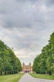 Das Lieblings-Schloss in Ludwigsburg, Deutschland lizenzfreie stockfotografie
