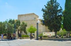 Das Limassol-Schloss Stockbilder