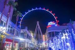 Das Linq Las Vegas Stockfotos