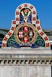 Das Logo des LCDR von der ersten Eisenbahnbrücke Blackfriars Lizenzfreie Stockbilder