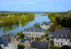 Das Loire- Valley - Vallée-De-La die Loire - Frankreich Lizenzfreie Stockfotos