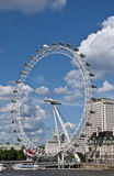 Das London-Auge Stockbilder