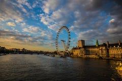 Das London-Auge Lizenzfreie Stockfotografie
