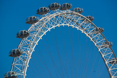 Das London-Auge, England Stockfotos