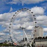 Das London-Auge, London, Großbritannien Stockbilder