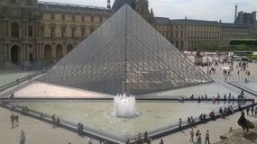 Das Lourve stockfotos