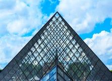 Das Louvre-Kunst-Museum, Paris Stockfoto