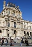 Das Louvremuseum stockfotografie