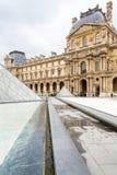 Das Louvremuseum lizenzfreie stockfotos
