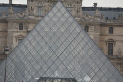 Das Luftschlitz-Museum in Paris stockbilder