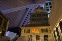 Das Luxor-Hotel u. das Kasino 60 lizenzfreies stockfoto