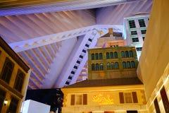 Das Luxor-Hotel u. das Kasino 58 stockbild