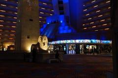 Das Luxor-Hotel u. das Kasino 56 stockfotografie
