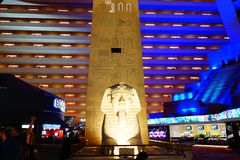 Das Luxor-Hotel u. das Kasino 48 stockfoto